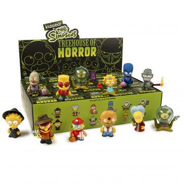 Kidrobot x The Simpsons Treehouse of Horror Mini Series!