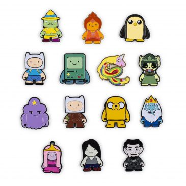 The Kidrobot x Adventure Time Pins Available Now!