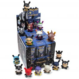 The Kidrobot x DC Batman Dunny Mini Series Release