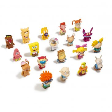 The Kidrobot x Nickelodeon Vinyl Mini Series Released on www.Kidrobot.com