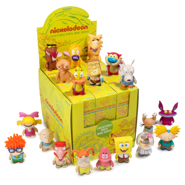 All You Need To Know About The Nick 90's Mini Series – Available Now on www.Kidrobot.com