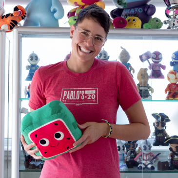 Getting To Know The Kidrobot Crew! Heather