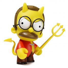 The Kidrobot x The Simpsons Devil Flanders Medium Figure Online Now!