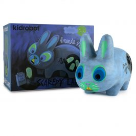 Throwback to Amanda Visell's Scaredy Labbit!