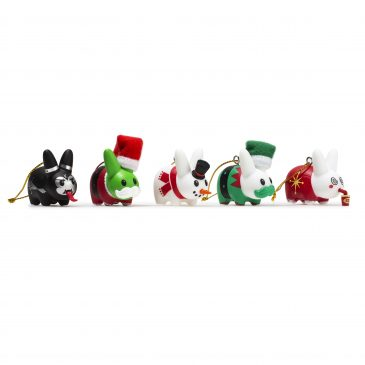 NEW Happy Labbit Christmas Tree Ornaments Available Now!