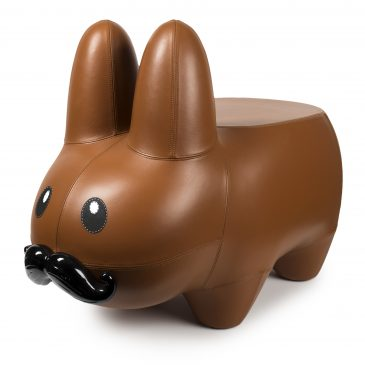 The Frank Kozik Labbit Leather Labbit Stool Available Online Now!