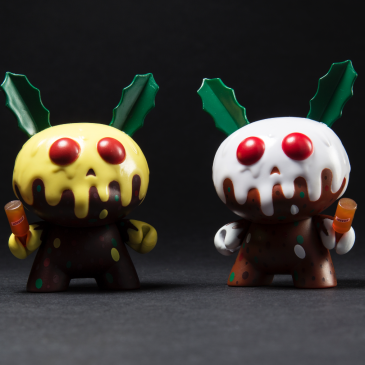 Kidrobot x Kronk Holiday XMAS Pudding Dunny Available Online Now!