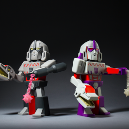 Transformer vs GI Joe Megatron Medium Art Figure Release!