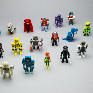 Kidrobot Transformers vs GI Joe Mini Series Available Online Now!