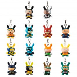 New Justice League Dunny Keychains!