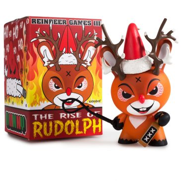 Throwback Thursday The Rise of Rudolph by Frank Kozik.
