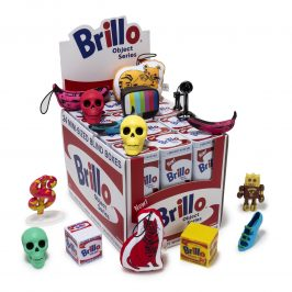 Andy Warhol x Kidrobot Brillo Box Mini Series Available Online Now!