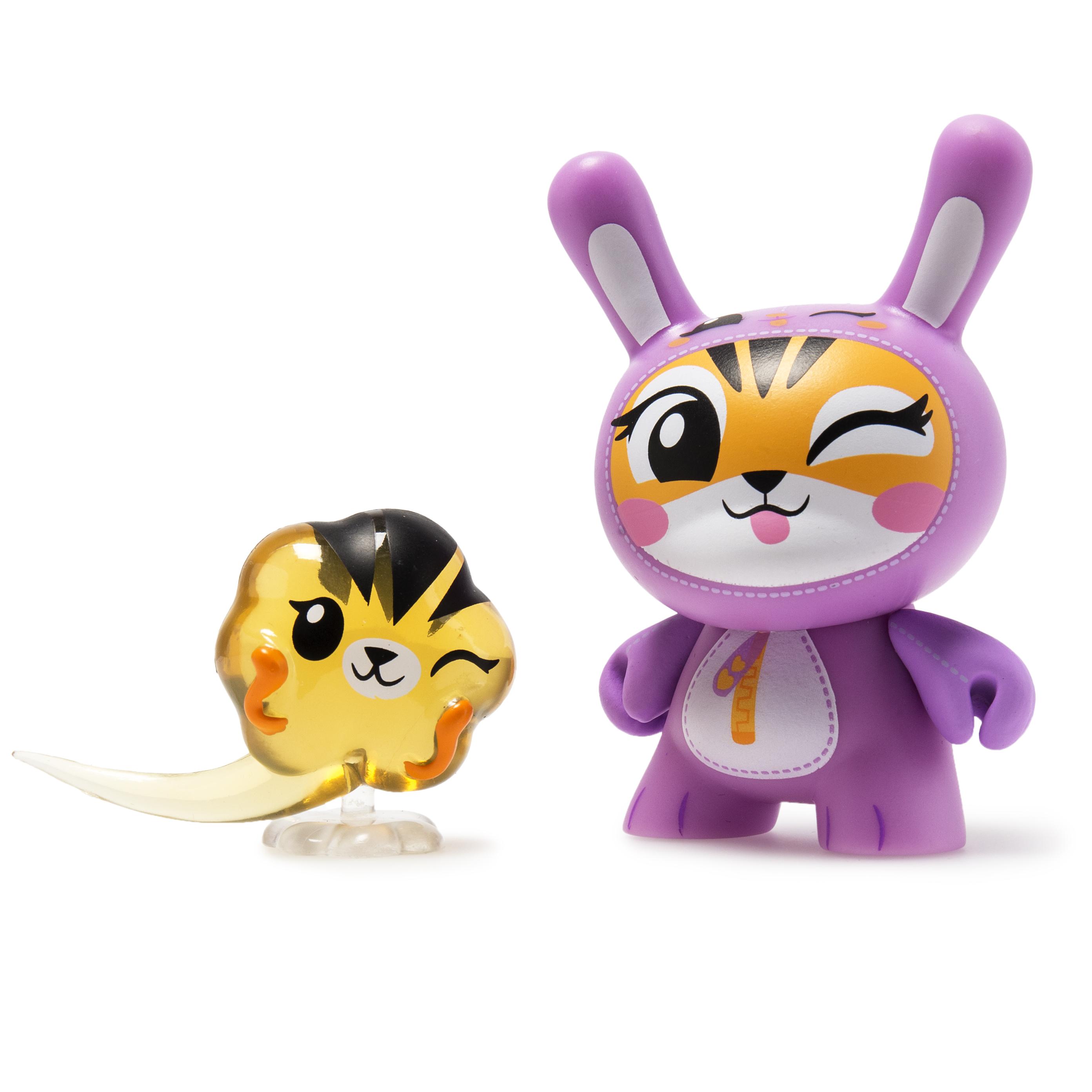 "Dunny Kidrobot Wild Ones Series Panda Linda Panda 3/"" 2018"