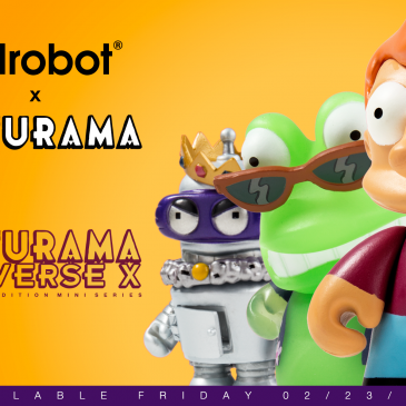 Kidrobot x Futurama Capsule Available now!