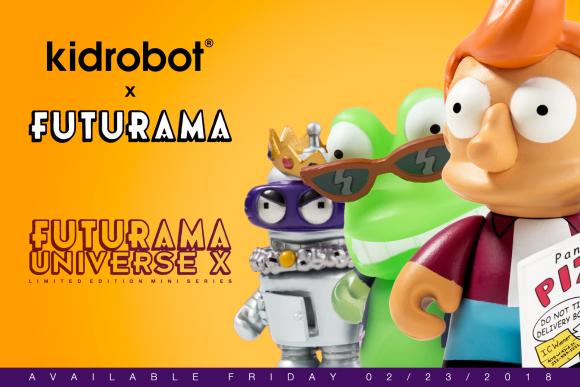 Kidrobot x Futurama Universe X Mini Series