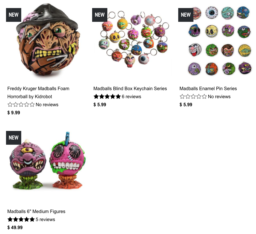 Madballs Collection Kidrobot 2