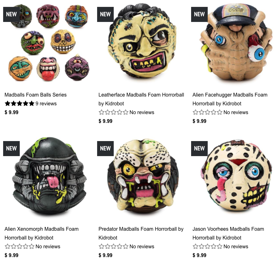 Madballs Collection Kidrobot