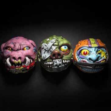 Madballs Foam Ball Series 2: Freaky Fullback, Lock Lips, Swine Sucker Available Now!