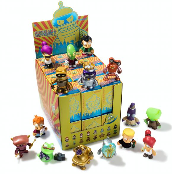 Kidrobot x Futurama Mini Seres