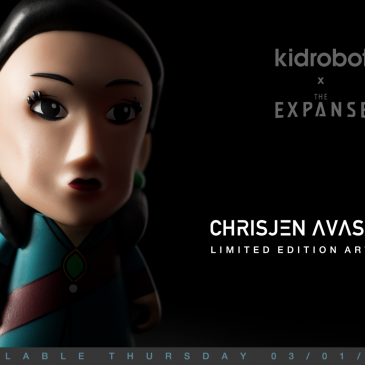 Kidrobot x The Expanse 7-Inch Figures Available Online Now!