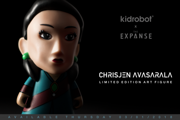 "Kidrobot x The Expanse 7"" Art Figures"