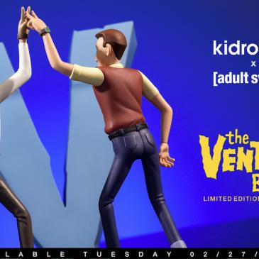 Kidrobot x The Venture Bros Medium Figure Available Online Now!