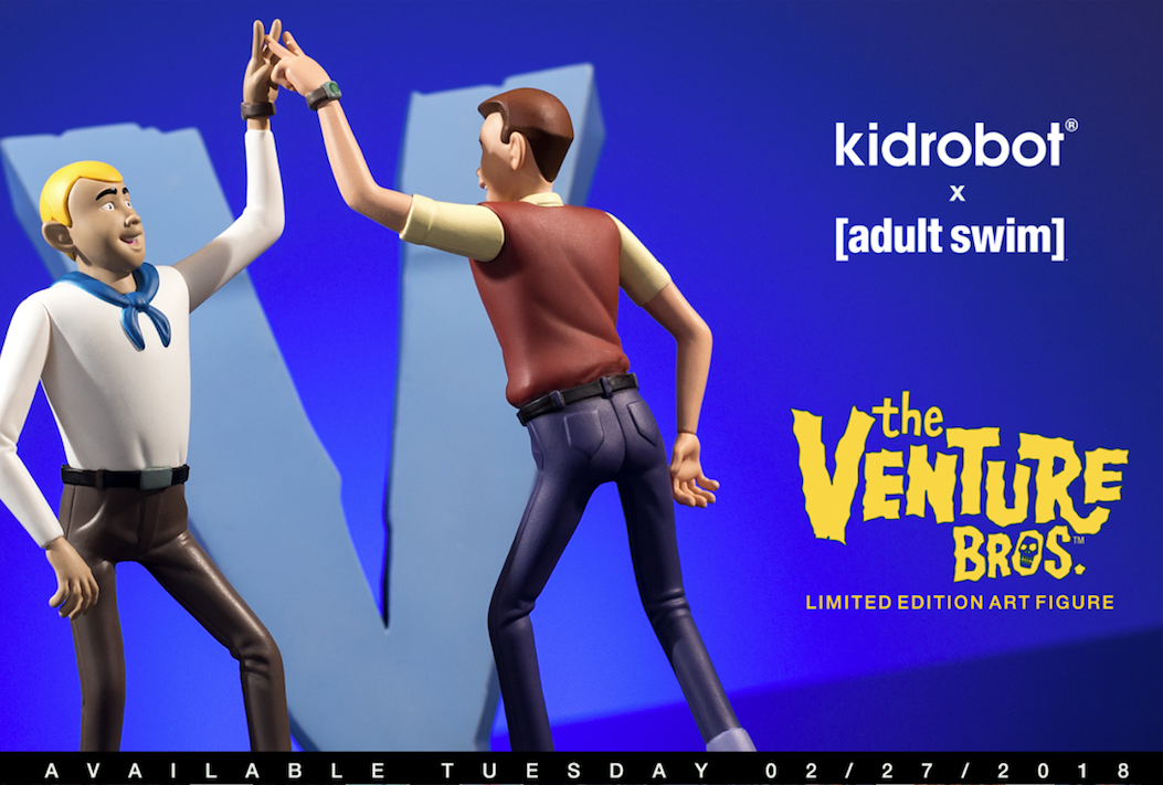 Kidrobot x Adult Swim Venture Bros Medium Figure