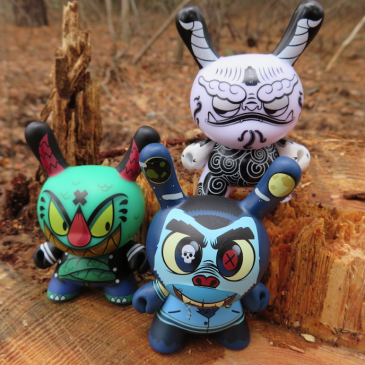 The Wild Ones – Kidrobot Designers by The Toy Viking!