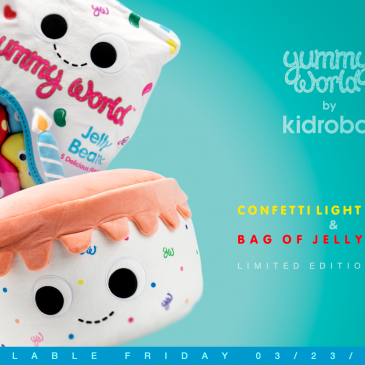 Kidrobot x Yummy World New Plush Releases Available Now!