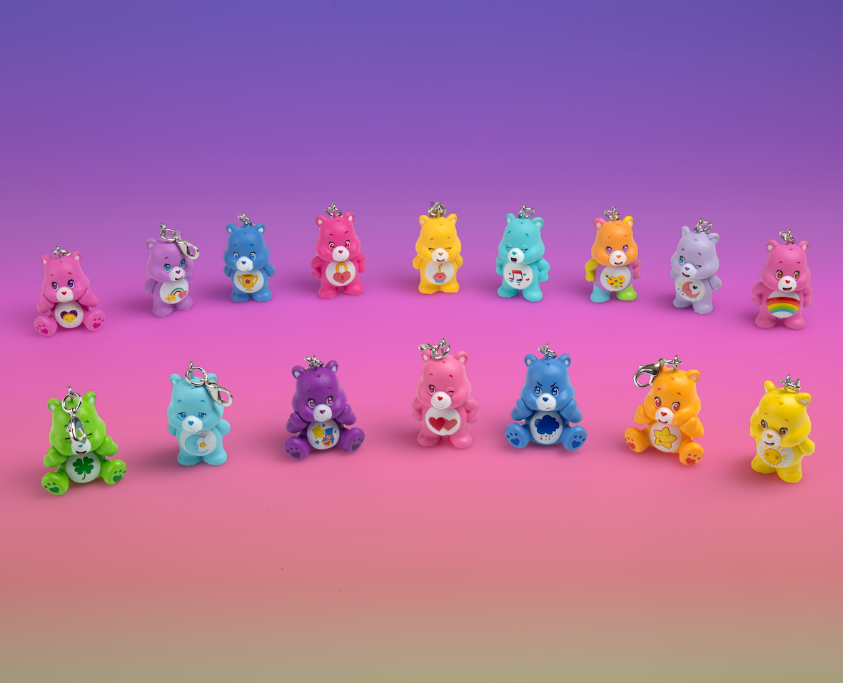 Kidrobot x Care Bears Keychains Series 2