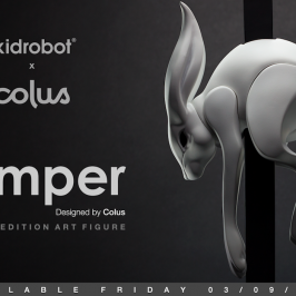 Kidrobot x Colus The Jumper