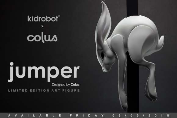 Kidrobot x Colus The Jumper Art Figure 2018