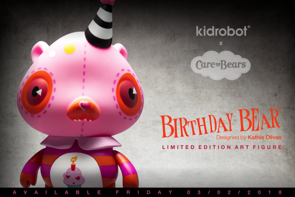 Care Bear Birthday Bear by Kathie Olivas