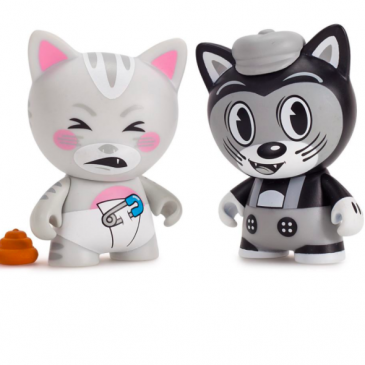 Throwback Thursday! The Kidrobot x Tricky Cats Vinyl Mini Series!