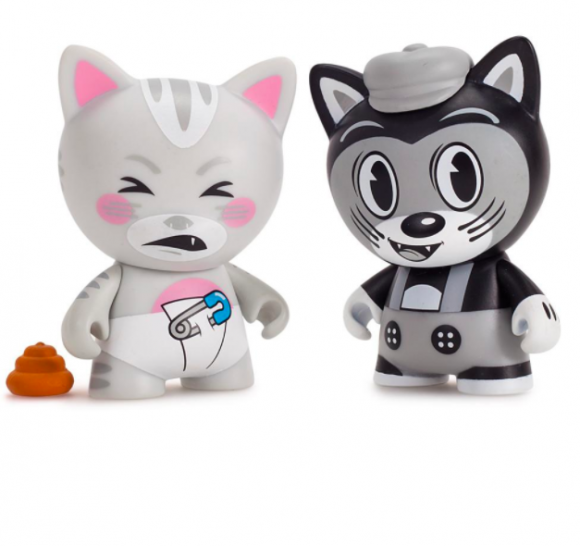 Kidrobot x Tricky Cats Mini Series