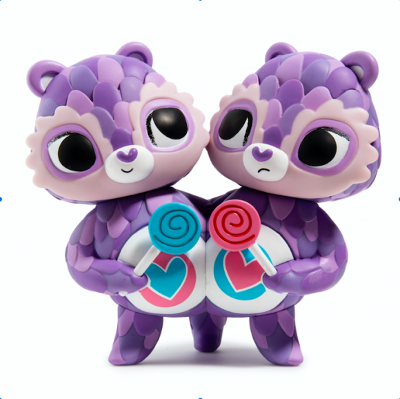 Kidrobot x Care Bears Share Bear byThe Horrible Adorables