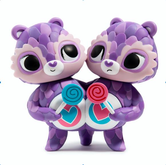 Kidrobot x Care Bears Share Bear byThe Horrible Adorables