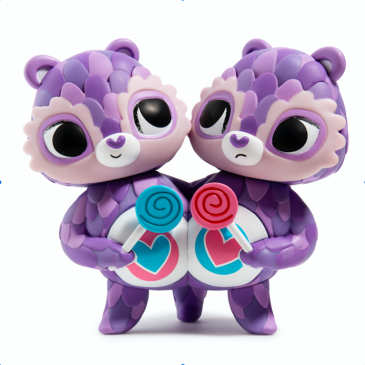 Kidrobot x The Horrible Adorables ShareBear Available Online Now!