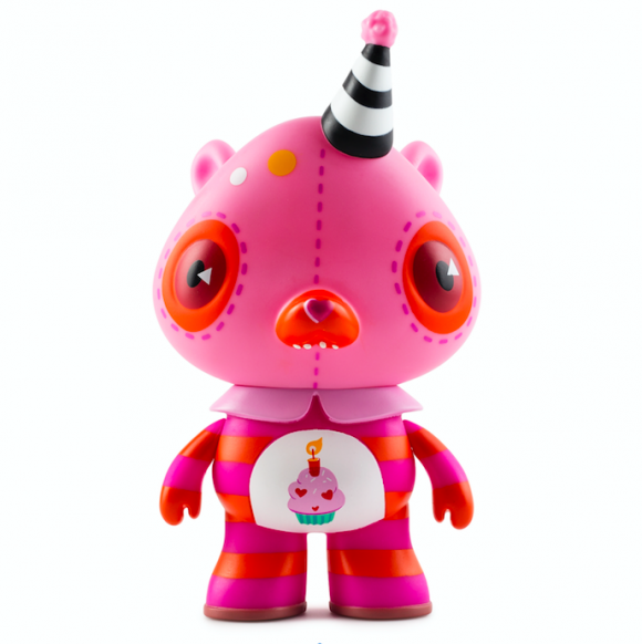 Kidrobot x Care Bears Birthday Bear by Kathie Olivas