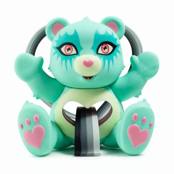 Kidrobot x Care Bears Tender Heart Bear by Tara McPherson