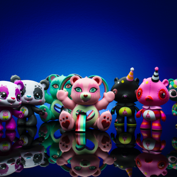 Kidrobot x Care Bears Female Artist Art Figure Series