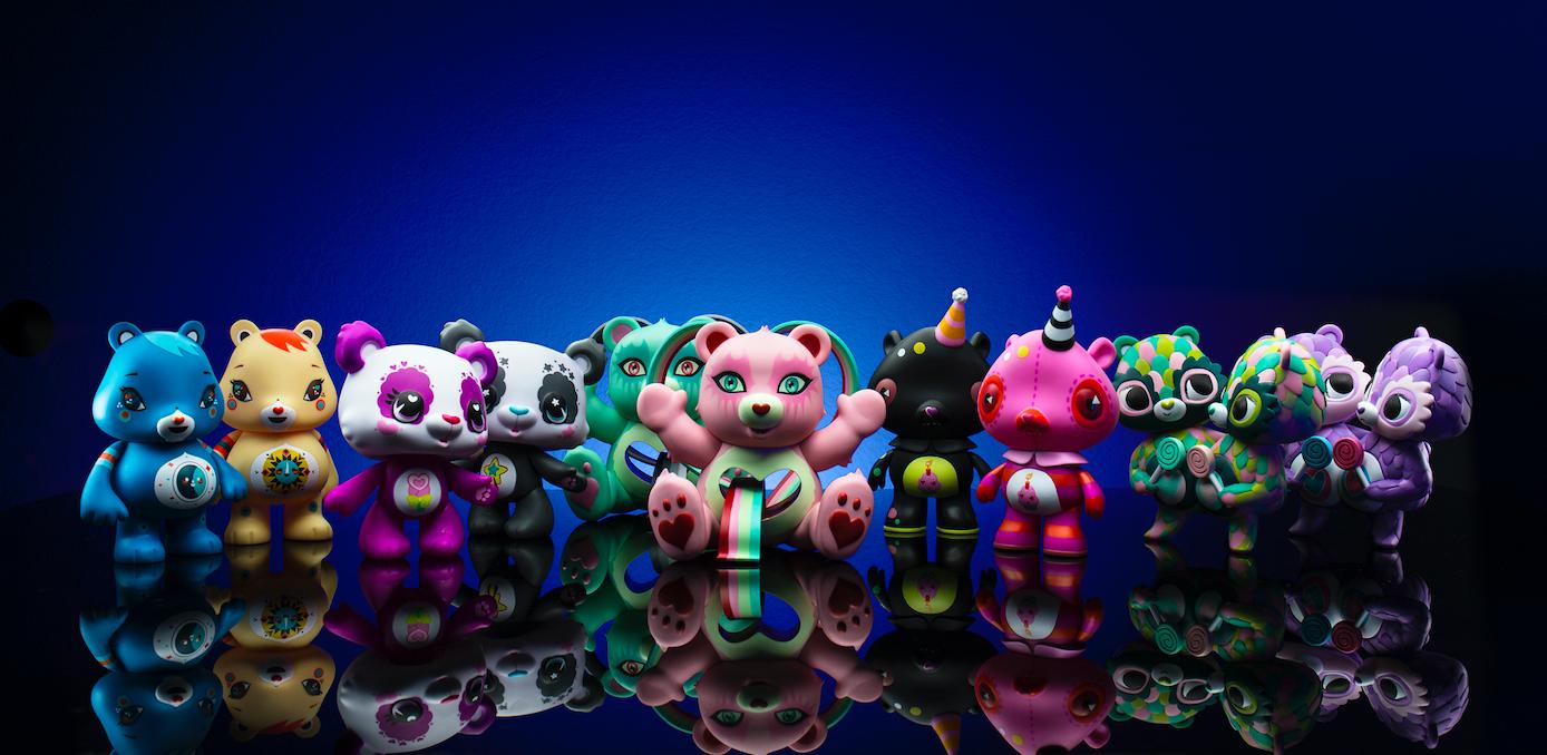 Kidrobot x Care Bears Female Medium Art Figure Capsule