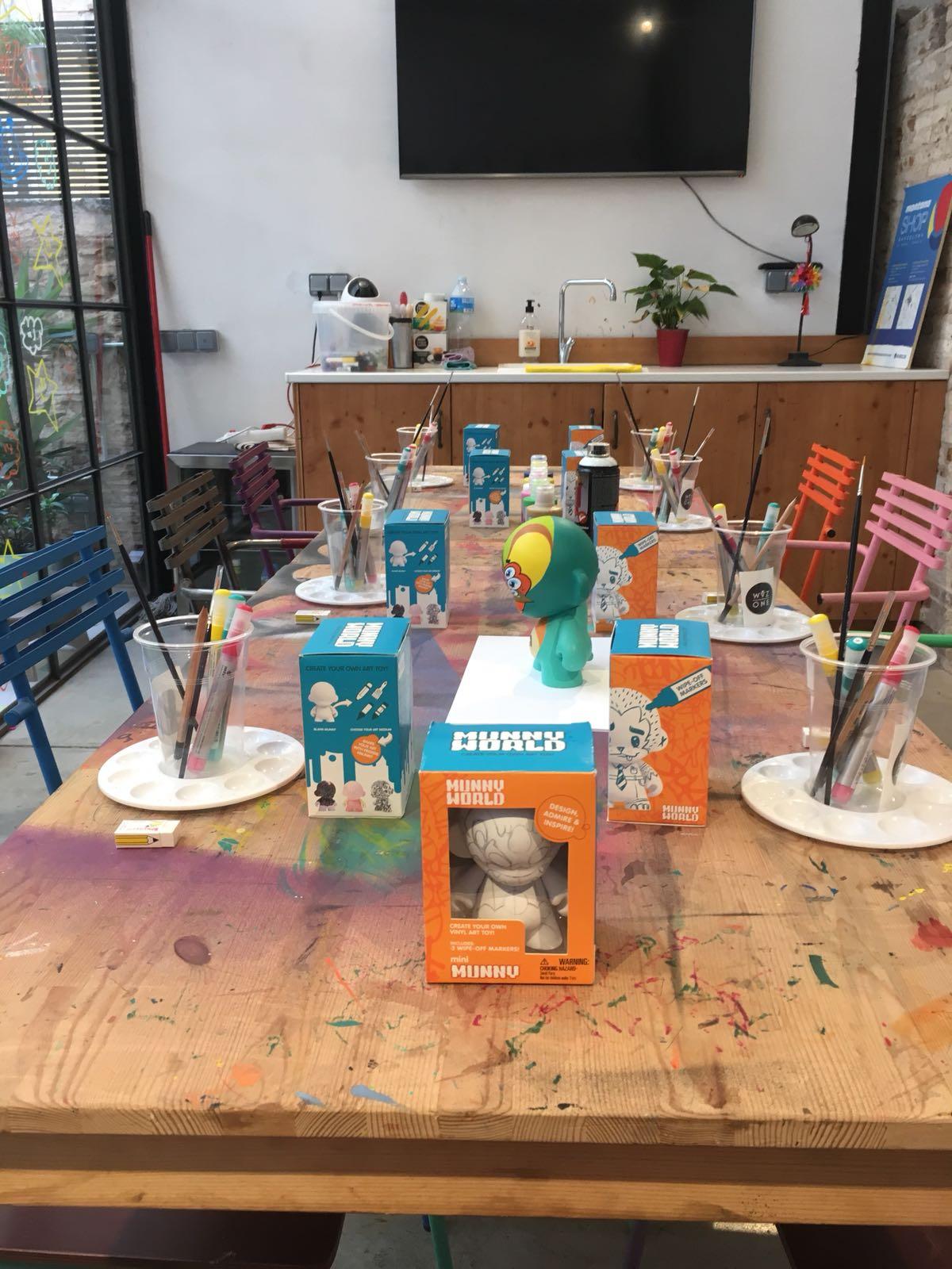 Kidrobot x WuzOne DIY Munny Workshop