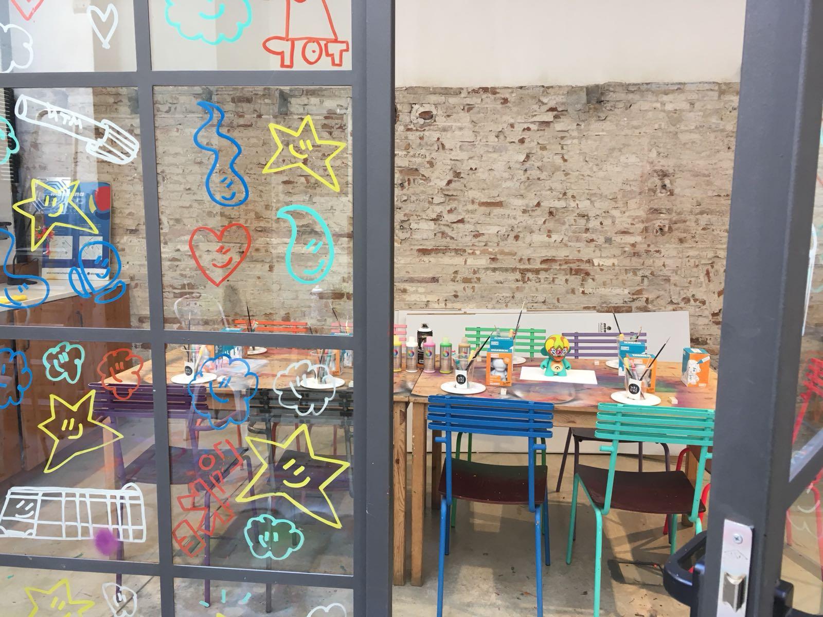 WuzOne x Kidrobot DIY Munny Workshop