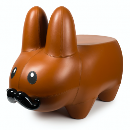 Kidrobot x Frank Kozik Leather Labbit Stool