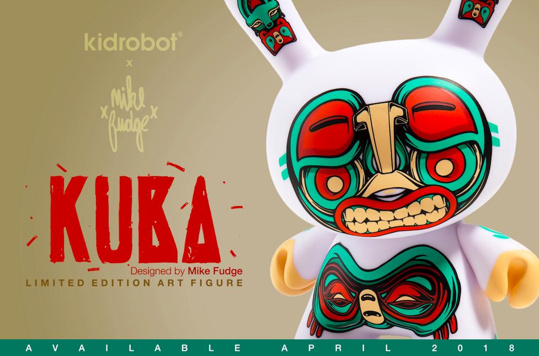 "Kidrobot x Mike Fudge 5"" Kuba Dunny"