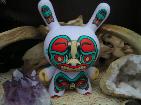 "Kidrobot x Mike Fudge 5"" Kuba Dunny"