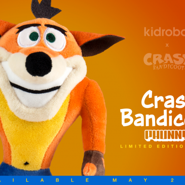 Kidrobot x Crash Bandicoot Online Now!