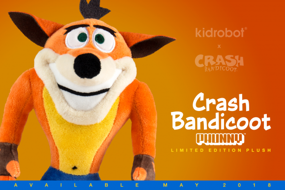Kidrobot x Crash bandicoot Vinyl Figure Mini Series