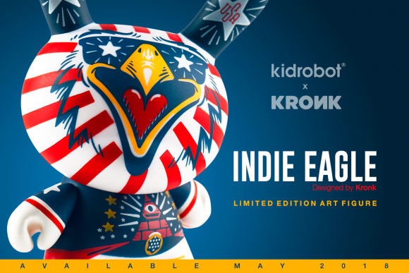 Kidrobot x Indie_Eagle_Dunny_Announcement